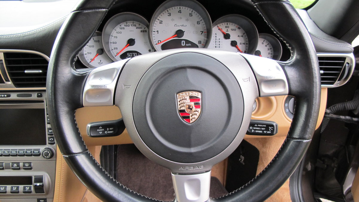 2008 Porsche 911 (997) Turbo Tiptronic Coupe Sports Exhaust For Sale (picture 6 of 6)