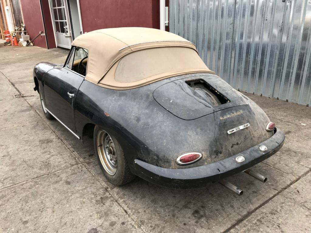 1961 Porsche 356B Cabriolet # 22791 For Sale (picture 3 of 5)