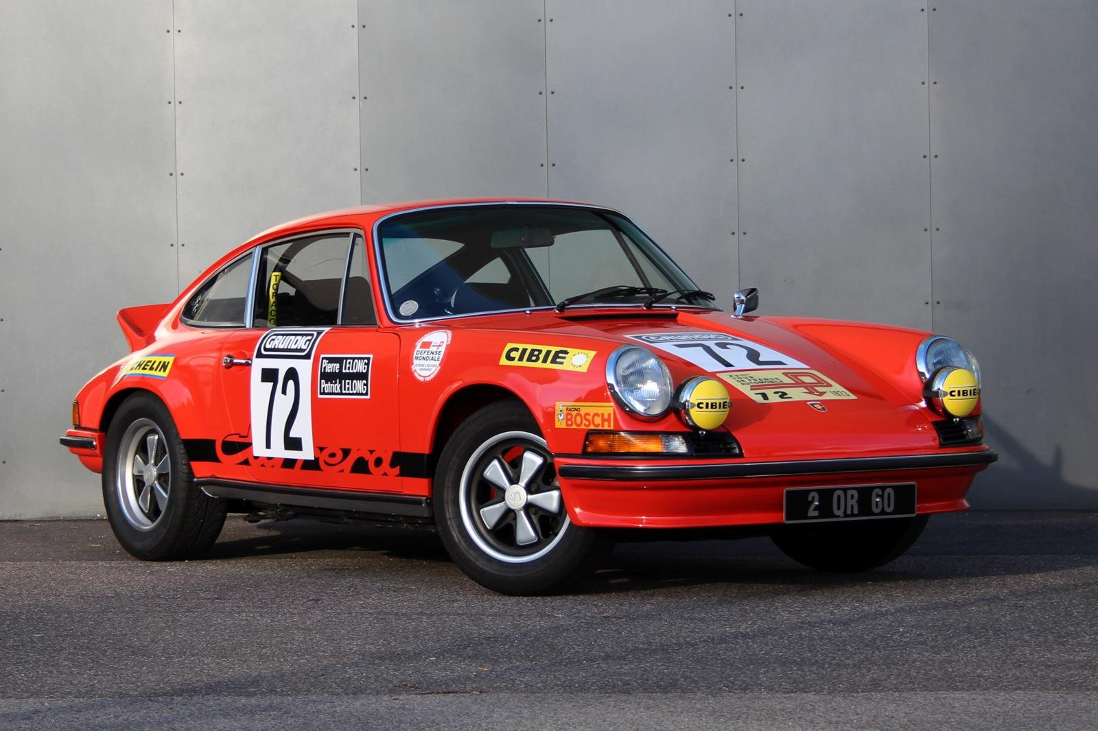 1973 Porsche 911 2,7 RS Touring LHD For Sale (picture 1 of 6)