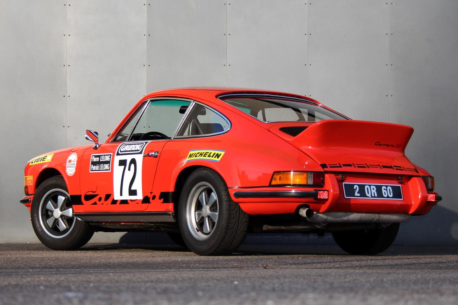 1973 Porsche 911 2,7 RS Touring LHD For Sale (picture 2 of 6)