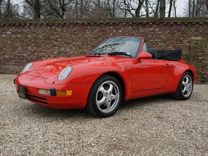 1995 PORSCHE 911 993 CONVERTIBLE 65.000 MILES, FIRST BILL OF SAL For Sale