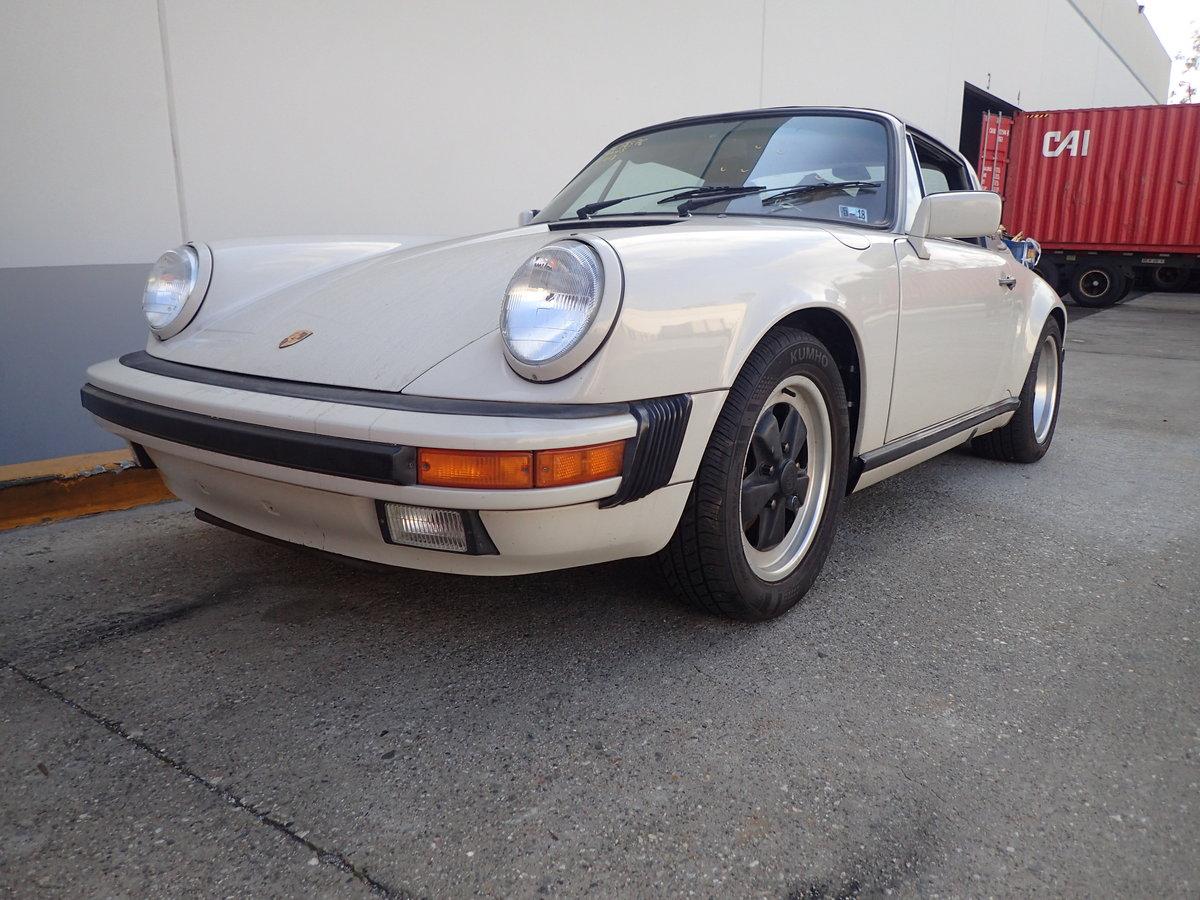 1989 Rare colour 89 G50 3.2l Porsche 911 Targa For Sale (picture 1 of 6)