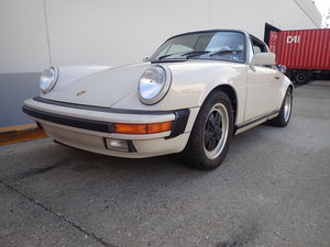 1989 Rare colour 89 G50 3.2l Porsche 911 Targa For Sale