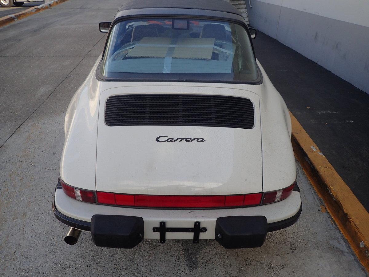 1989 Rare colour 89 G50 3.2l Porsche 911 Targa For Sale (picture 2 of 6)