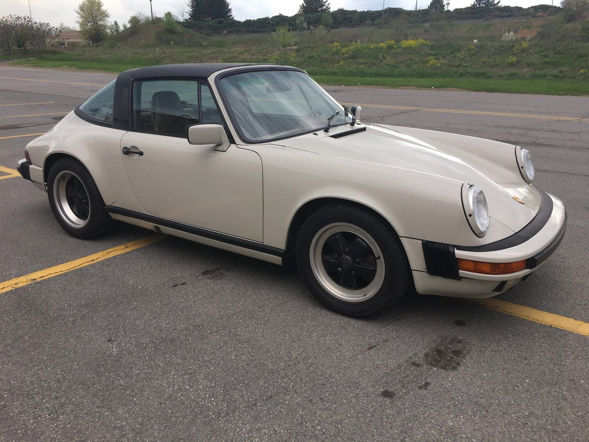 1989 Rare colour 89 G50 3.2l Porsche 911 Targa For Sale (picture 5 of 6)