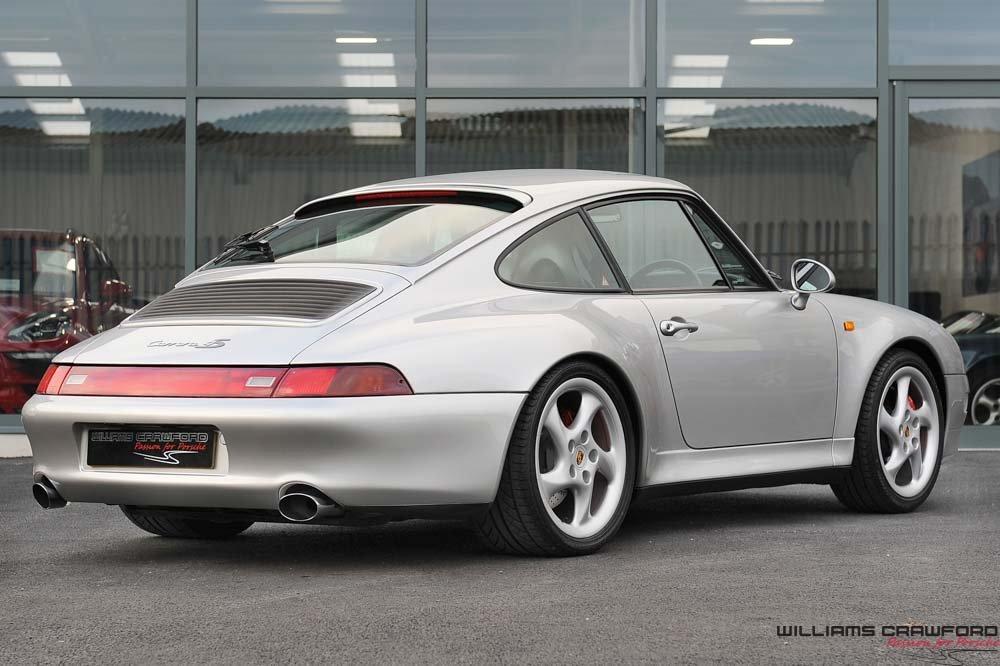 1998 Porsche 993 Carrera 4 S coupe For Sale (picture 2 of 6)