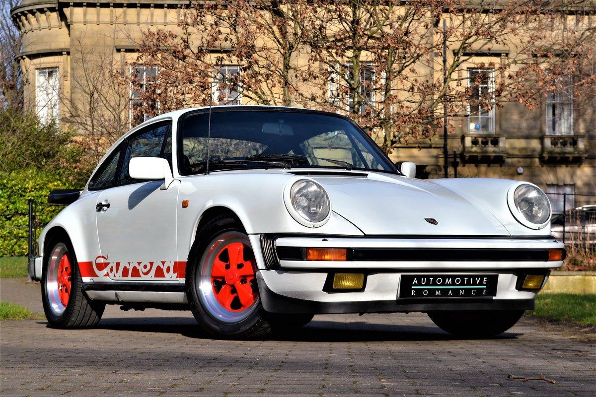 1984 Porsche 911 3.2 Carrera Coupe  For Sale (picture 1 of 6)