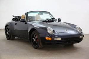 1997 Porsche 993 Cabriolet For Sale