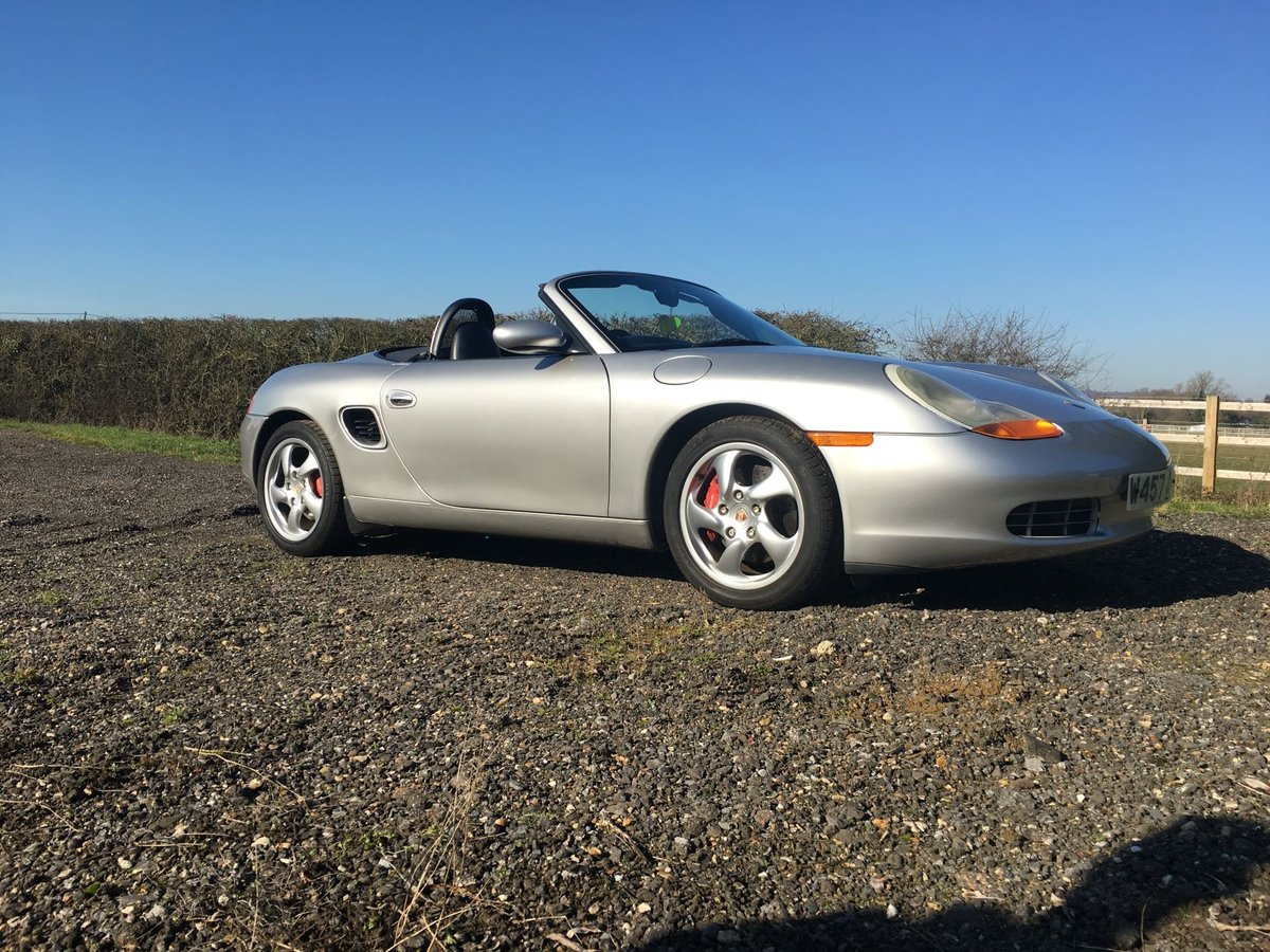 2000 Porsche Boxster 3.2s 6 Speed Manual For Sale (picture 1 of 6)
