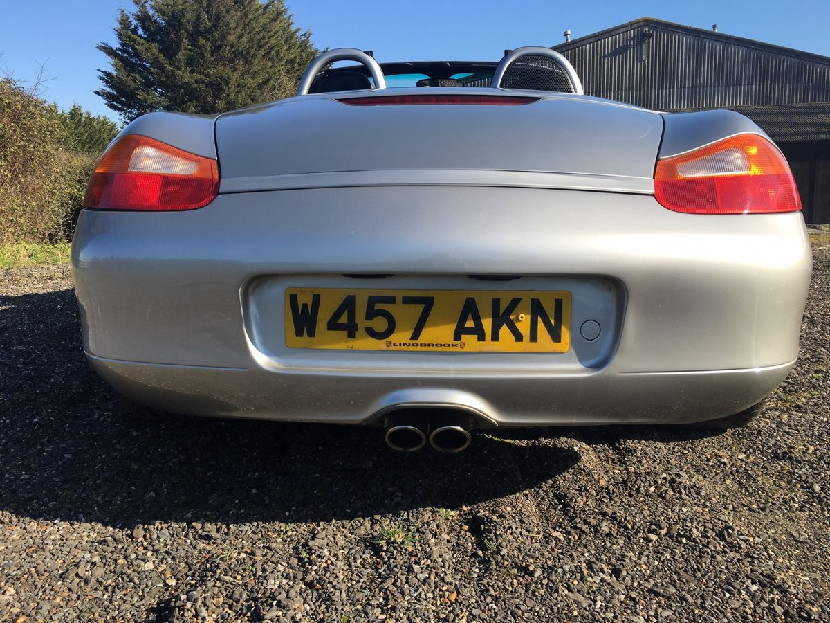2000 Porsche Boxster 3.2s 6 Speed Manual For Sale (picture 3 of 6)
