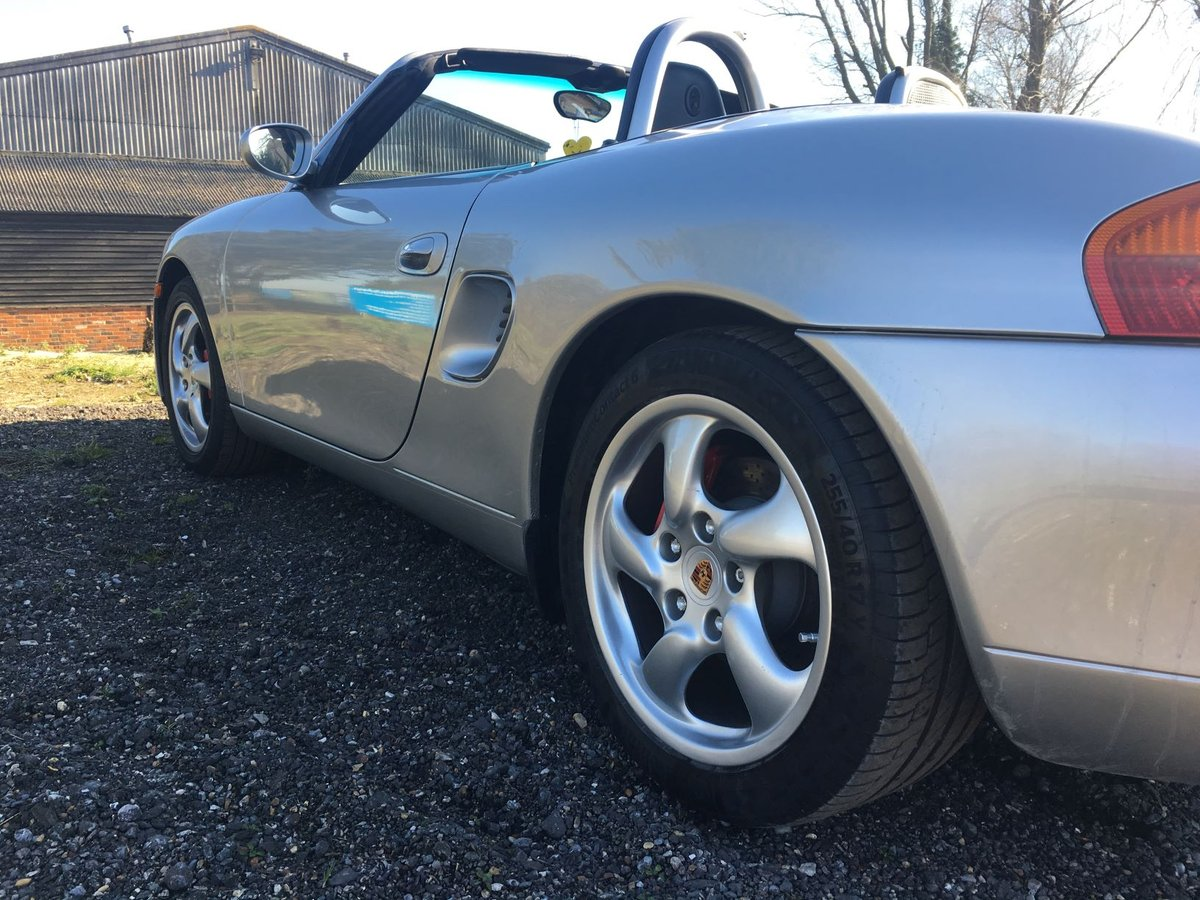 2000 Porsche Boxster 3.2s 6 Speed Manual For Sale (picture 4 of 6)