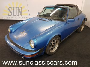 Porsche 911 Targa 1978, very solid basis