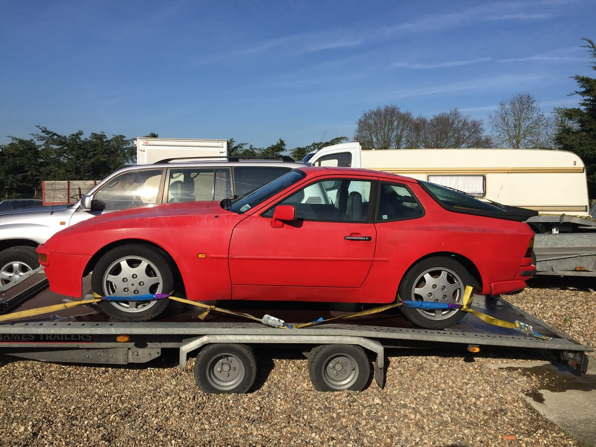 1985 Porsche 944 Project For Sale (picture 3 of 6)