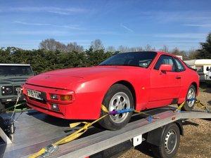 1989 Porsche 944 Project For Sale