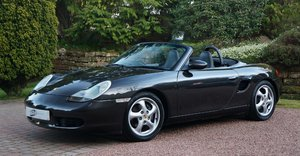 1999 BOXSTER SportTechnik + M030 BLACK PEARL 09991 EXCL For Sale
