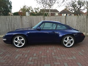 1993 NOW SOLD PORSCHE 911 993 CARRERA2 3.6 BLUE For Sale