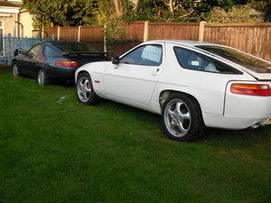 1990 2x 928 S4 Porsche project cars  For Sale