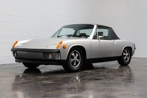 1970 Porsche 914-6  = 2 liter Solid Silver low dry miles  $83.5k For Sale