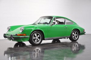 1970 Porsche 911S Coupe = Go Green(~)Black low miles $198.5k For Sale