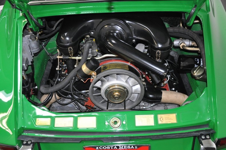 1970 Porsche 911S Coupe = Go Green(~)Black low miles $198.5k For Sale (picture 6 of 6)