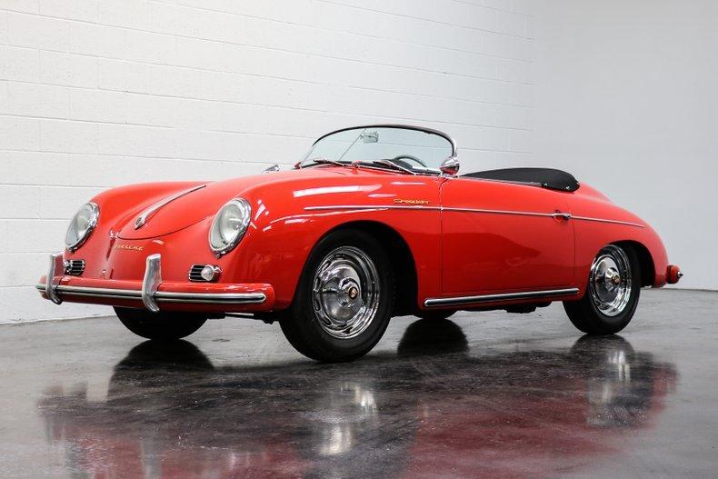 1958 Porsche 356A Speedster = Red(~)Black 12k miles $269.9k For Sale (picture 1 of 6)