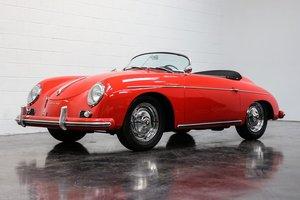 1958 Porsche 356A Speedster = Red(~)Black 12k miles $269.9k For Sale