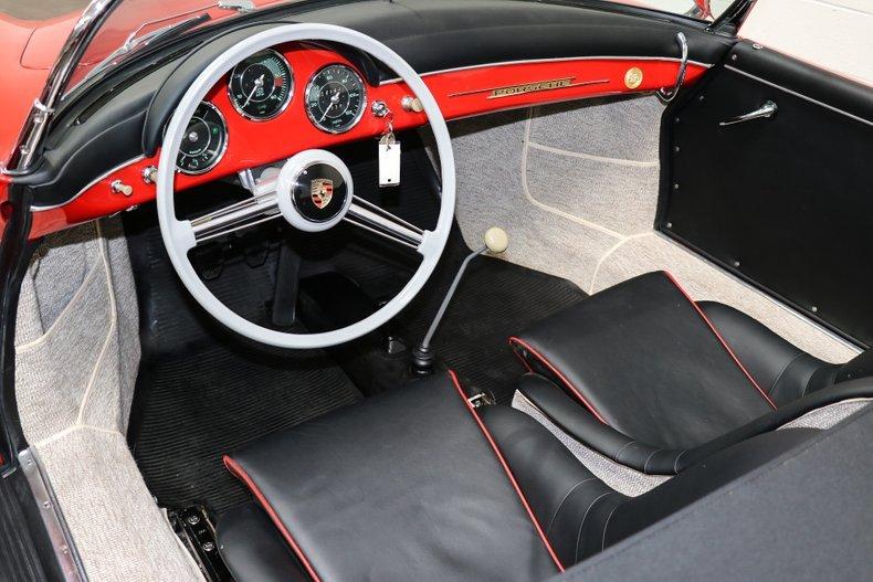1958 Porsche 356A Speedster = Red(~)Black 12k miles $269.9k For Sale (picture 4 of 6)