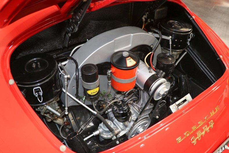 1958 Porsche 356A Speedster = Red(~)Black 12k miles $269.9k For Sale (picture 5 of 6)