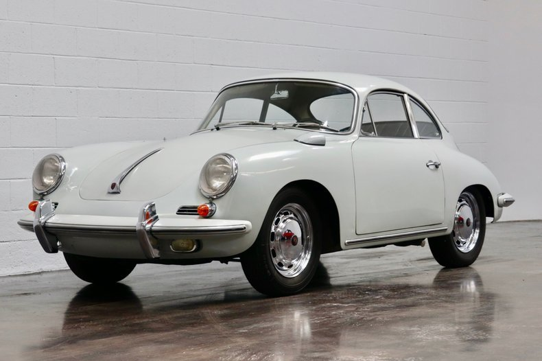 1965 Porsche 356C Coupe = Correct Grey 28k miles  $104.5k For Sale (picture 1 of 6)