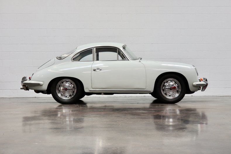 1965 Porsche 356C Coupe = Correct Grey 28k miles  $104.5k For Sale (picture 2 of 6)