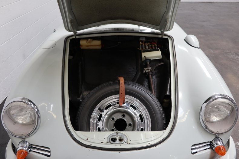 1965 Porsche 356C Coupe = Correct Grey 28k miles  $104.5k For Sale (picture 5 of 6)