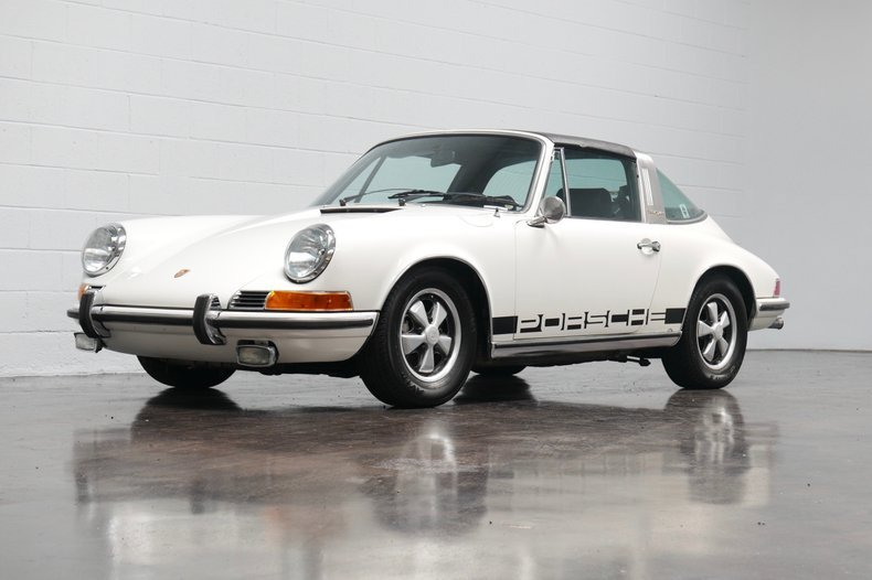1971 Porsche 911E Targa = clean Ivory driver 80k miles $99.5 For Sale (picture 1 of 6)