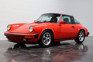 1985 Porsche 911 Carrera Targa = Red Driver 48k miles $56.5k For Sale