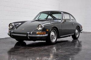 1968 Porsche 912 Coupe = clean Grey(~)Black 14k miles $69.9k For Sale