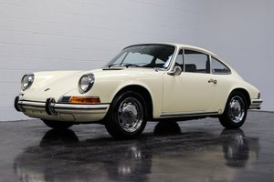 1969 Porsche 912 Coupe = clean Ivory low 7.9k miles $49.9k   For Sale