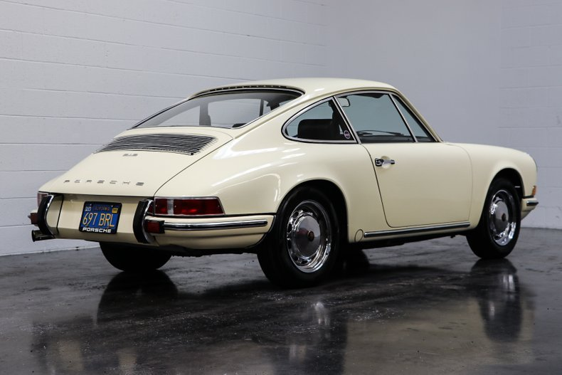 1969 Porsche 912 Coupe = clean Ivory low 7.9k miles $49.9k   For Sale (picture 2 of 6)