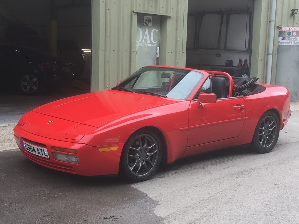 1990 Porsche 944S2 Convertible, LHD from California Rust Free For Sale (picture 2 of 6)