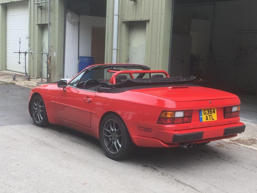 1990 Porsche 944S2 Convertible, LHD from California Rust Free For Sale (picture 3 of 6)