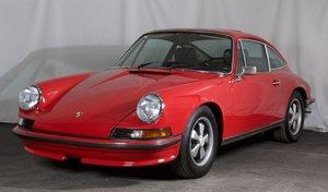 1973 Porsche 911 E 2.4 Sunroof Coupe = Euro-specs Red $98.5k For Sale