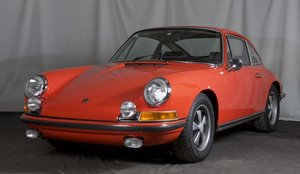 1970 Porsche 911 T = Sportomatic Tangerin 24k miles $89.5k For Sale