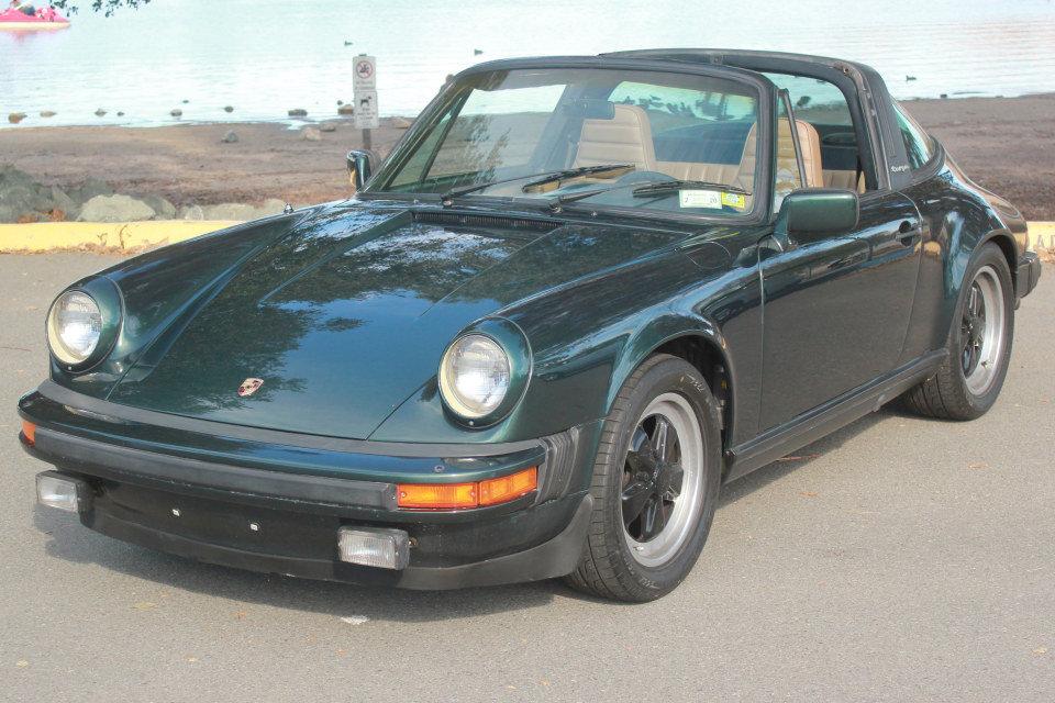 1983 Porsche 911SC Targa = Rare 1 of  made Go Green $69k For Sale (picture 1 of 6)