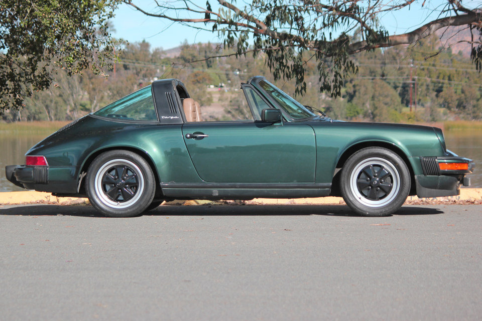 1983 Porsche 911SC Targa = Rare 1 of  made Go Green $69k For Sale (picture 2 of 6)