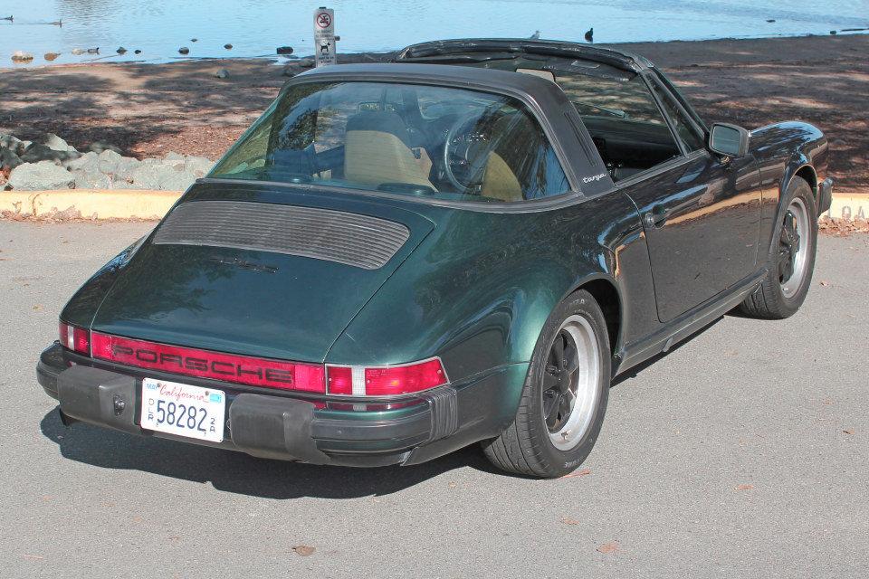 1983 Porsche 911SC Targa = Rare 1 of  made Go Green $69k For Sale (picture 3 of 6)