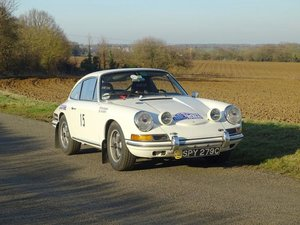 1965 Porsche 911 Rally Car For Sale by Auction