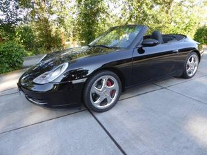 1999 Porsche 911 Cabriolet =Black 76k miles Manual $18.5k For Sale