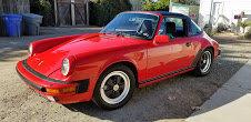 1986 Porsche 911 3.2 Carrera Targa = clean Red(~)Black $41.9 For Sale