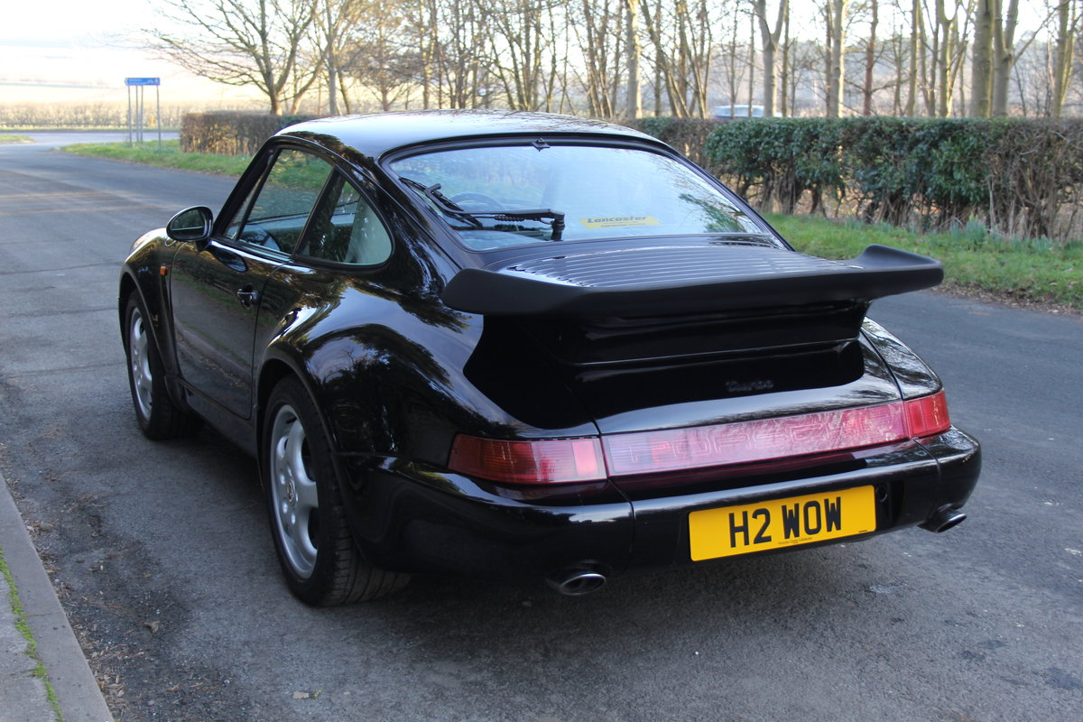 1991 Porsche 911 (964) Turbo - Low Mileage, Full Service History For Sale (picture 3 of 12)