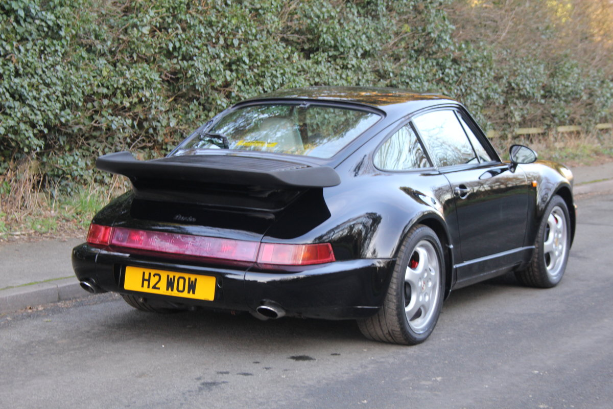 1991 Porsche 911 (964) Turbo - Low Mileage, Full Service History For Sale (picture 4 of 12)