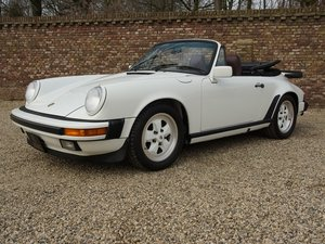 1987 Porsche 911 3.2 Carrera G50 Convertible first paint. For Sale