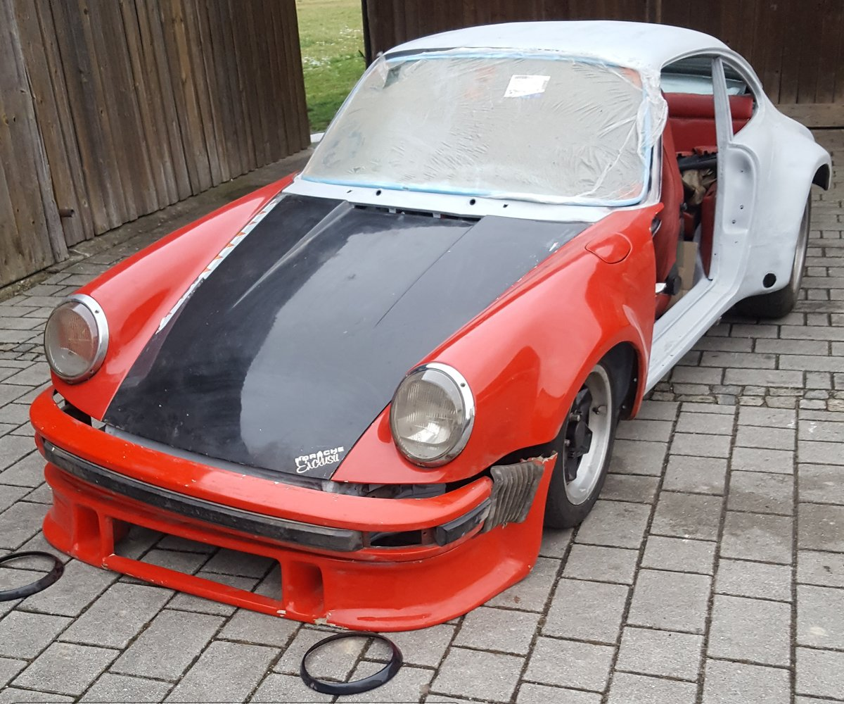 1974 911 930 935 SC RS Project Car 2700 Cc Plus Spares For